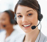 business-customer-service-woman-smiling